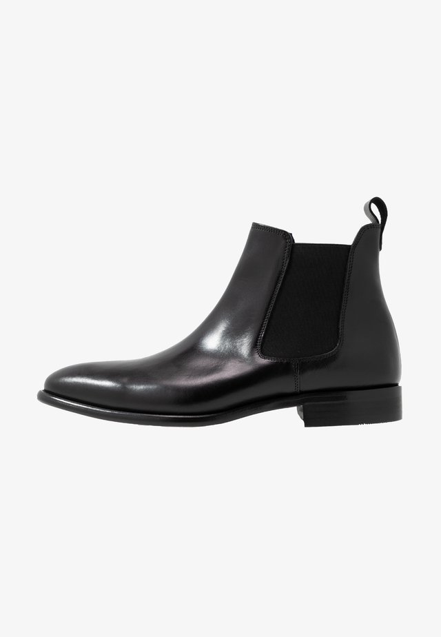 Bottines - natur noir/noir