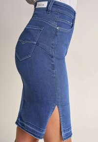 Salsa - RÖCKE SECRET  - Pencil skirt - blue - 3