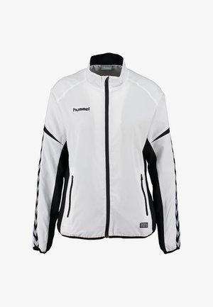 CHARGE MICRO ZIP - Training jacket - white