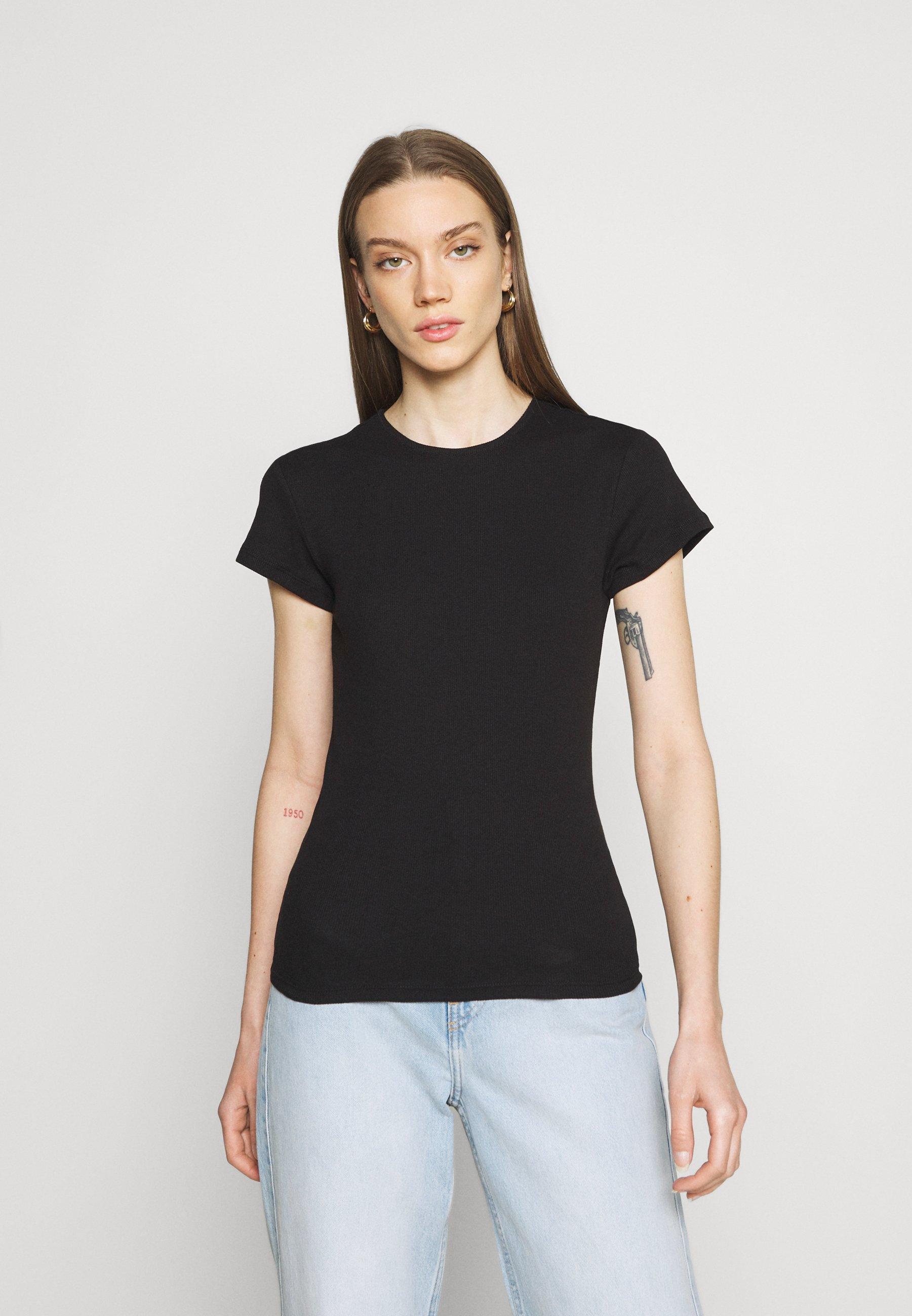 Women VMLENA CAP SLEEVE - Basic T-shirt
