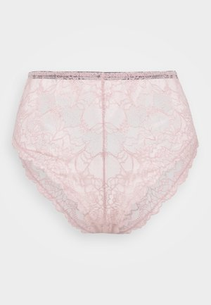 FELICITY HAYWARD HIGHWAIST HIGHLEG BRIEF CURVE - Slip - pink
