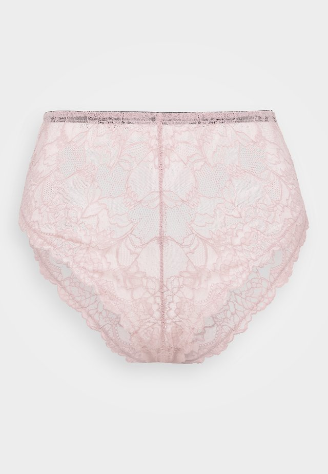 FELICITY HAYWARD HIGHWAIST HIGHLEG BRIEF CURVE - Figi - pink