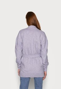 Gap Tall - BELTED OPEN SUPER PLUSH - Cardigan - frosted lilac - 3
