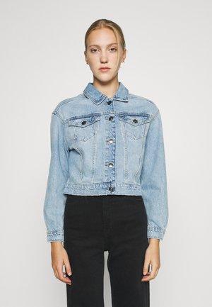 ONLMALIBU LIFE JACKET - Giacca di jeans - light blue denim