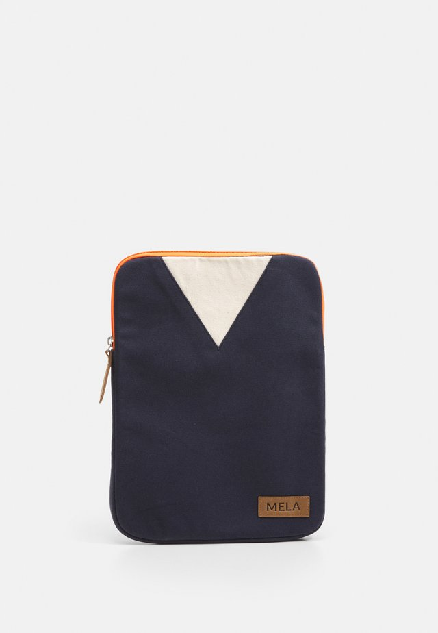 Laptop bag - blue/orange