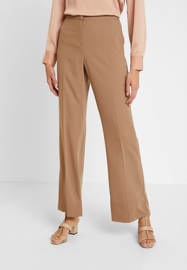 BOOTCUT - Kalhoty - light brown