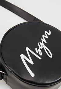 MSGM - Taška spříčným popruhem - black - 2