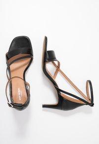 Shoe The Bear - ROSANNA STRAP - Sandals - black - 3