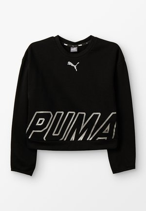 ALPHA CREW  - Sweater - black