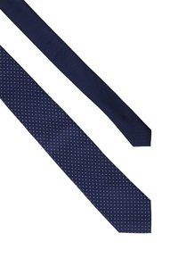 Tommy Hilfiger - DOT TIE - Tie - blue - 2