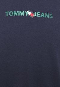 Tommy Jeans - LOGO TEE UNISEX - Långärmad tröja - twilight navy - 5
