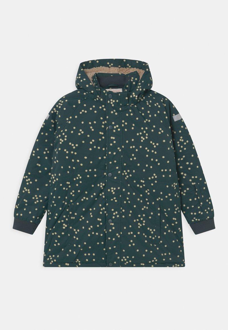 TINYCOTTONS - UNISEX - Winter coat - dark green/off-white
