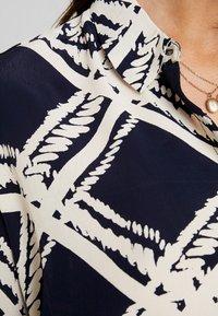 Masai - IBILY BLOUSE - Button-down blouse - navy - 5