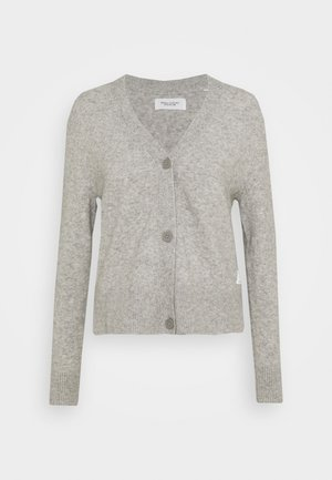 LONG SLEEVE - Cardigan - stone melange