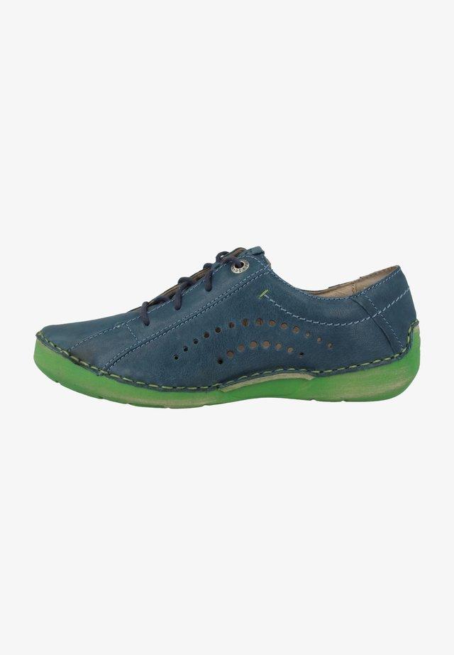 FERGEY  - Sportieve veterschoenen - blue