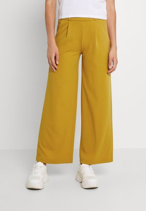 JDYGEGGO NEW LONG PANT - Trousers - harvest gold