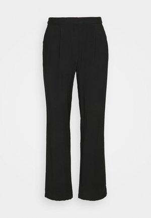 Business Pants - Kalhoty - black
