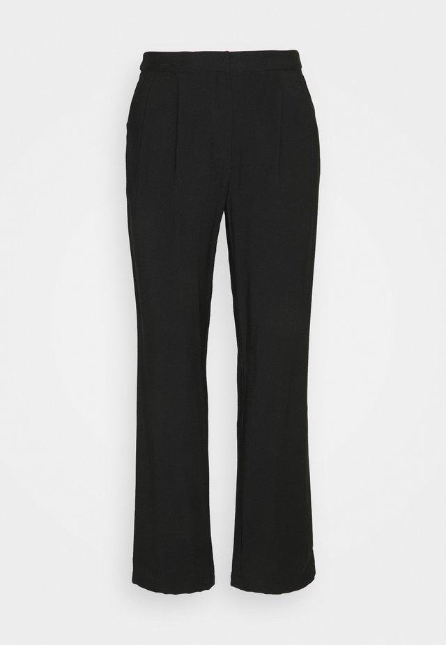 Business Pants - Pantaloni - black