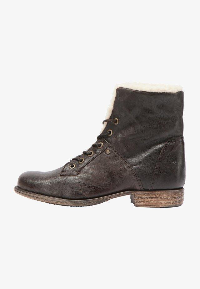 Kotníková obuv - dunkelbraun