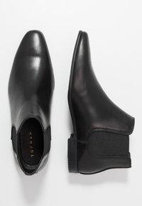 Topman - BRIAR CHELSEA - Classic ankle boots - black - 1