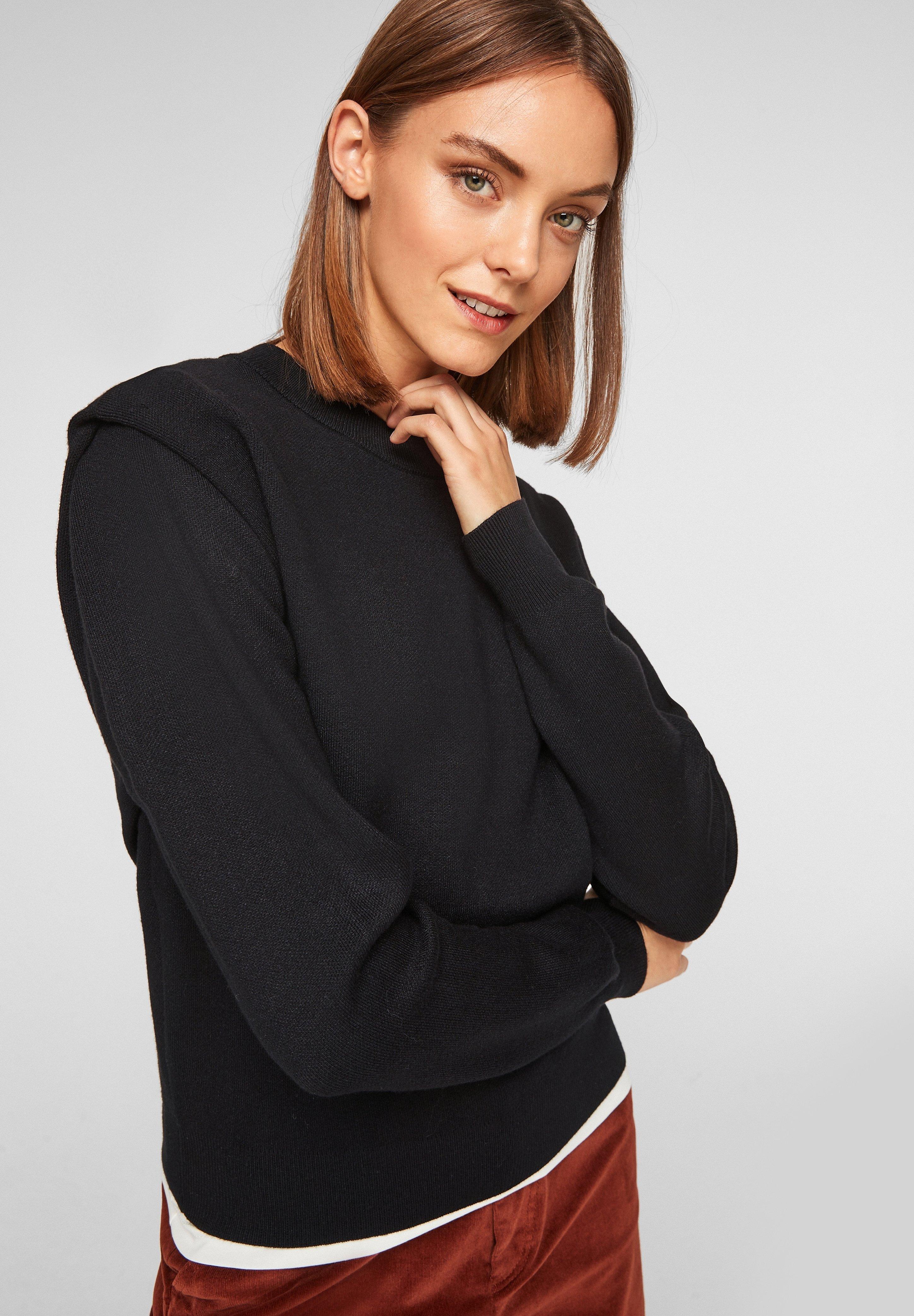 Femme À ÉPAULES SOULIGNÉES - Pullover