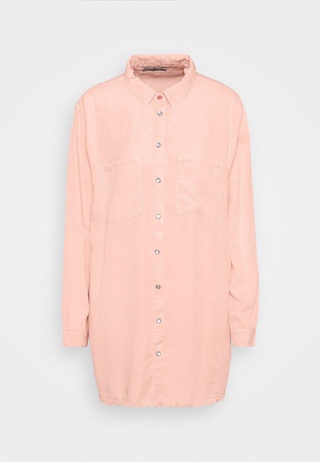 RACHEL - Shirt dress - rose smoke wash