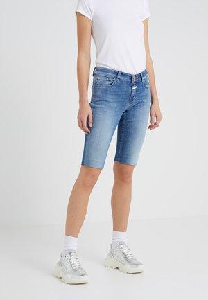 BAKER - Denim shorts - light blue