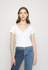 Monki - SONJA 2 PACK - Print T-shirt - off white - 1