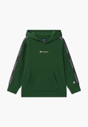 LEGACY AMERICAN TAPE HOODED - Mikina s kapucí - dark green