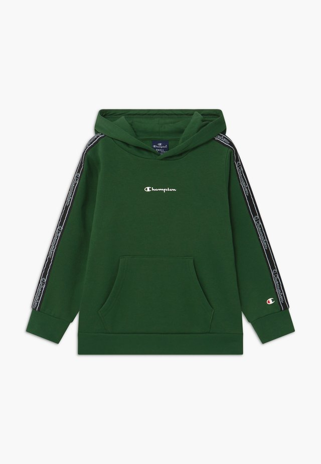 LEGACY AMERICAN TAPE HOODED - Bluza z kapturem - dark green