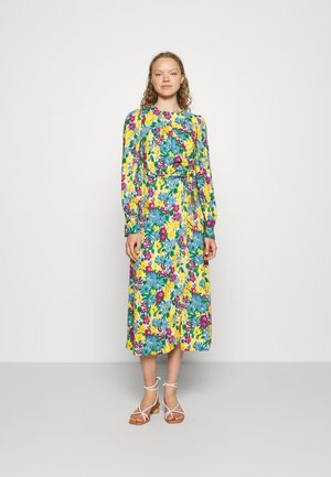 A-LINE DRESS - Day dress - yellow