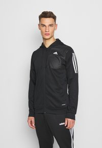 adidas Performance - AERO  - Zip-up hoodie - black - 0