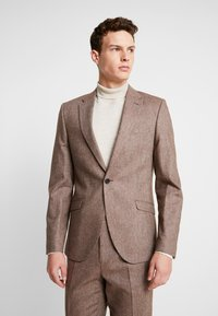 Shelby & Sons - CRANBROOK SUIT - Traje - light brown - 2