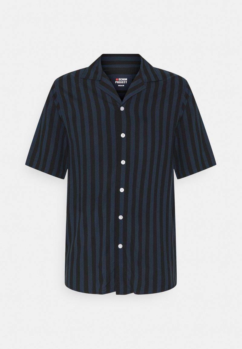 Denim Project - EL CUBA - Shirt - black/total eclipse