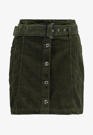 SKIRT - Mini skirt - khaki