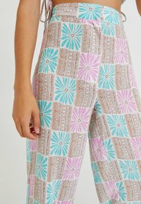 PULL&BEAR - Trousers - turquoise - 3