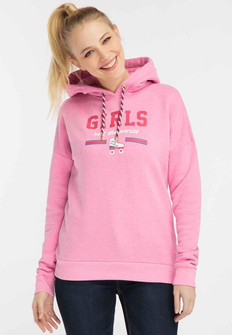 Factory Price Women's Clothing myMo Hoodie pink melange iG3odaAgU