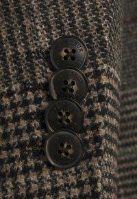 Les Deux - MADISON CHECK COAT - Classic coat - grey - 2