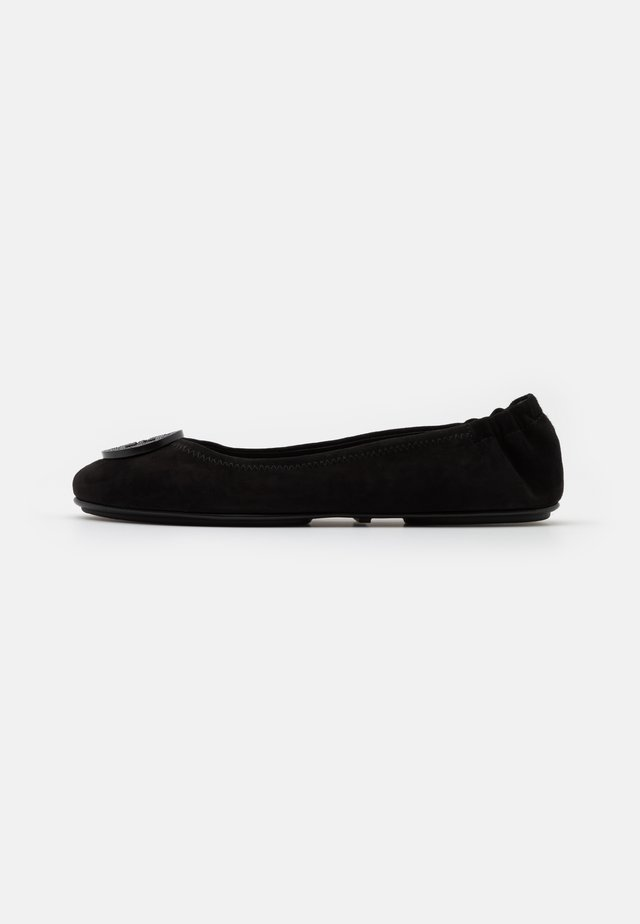 MINNIE TRAVEL WITH PAVE LOGO - Ballerine - perfect black