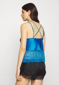 Marks & Spencer London - AUTO CAMI - Pyjama top - bright blue - 2
