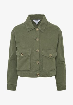 CASUAL SHACKET - Light jacket - khaki