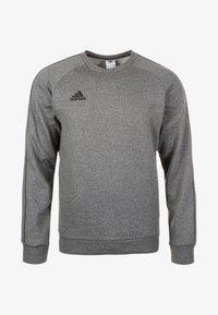 CORE ELEVEN FOOTBALL LONG SLEEVE PULLOVER - Sweatshirt - dark grey
