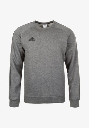 CORE ELEVEN FOOTBALL LONG SLEEVE PULLOVER - Mikina - dark grey
