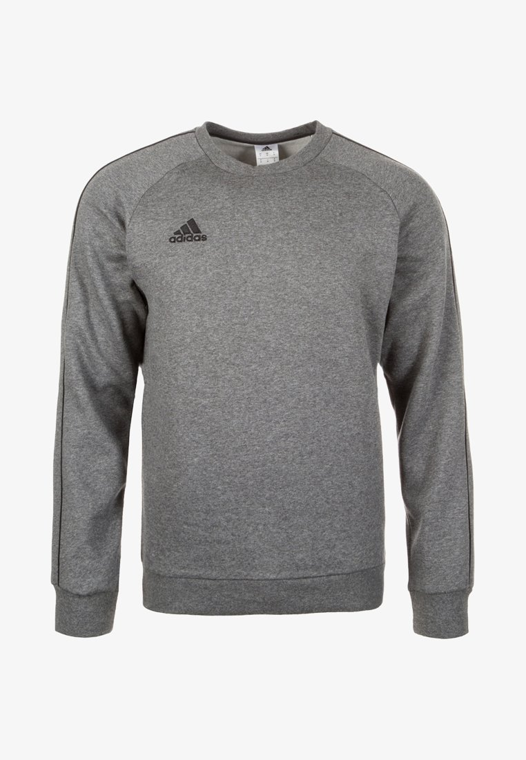 adidas Performance - CORE ELEVEN FOOTBALL LONG SLEEVE PULLOVER - Sudadera - dark grey