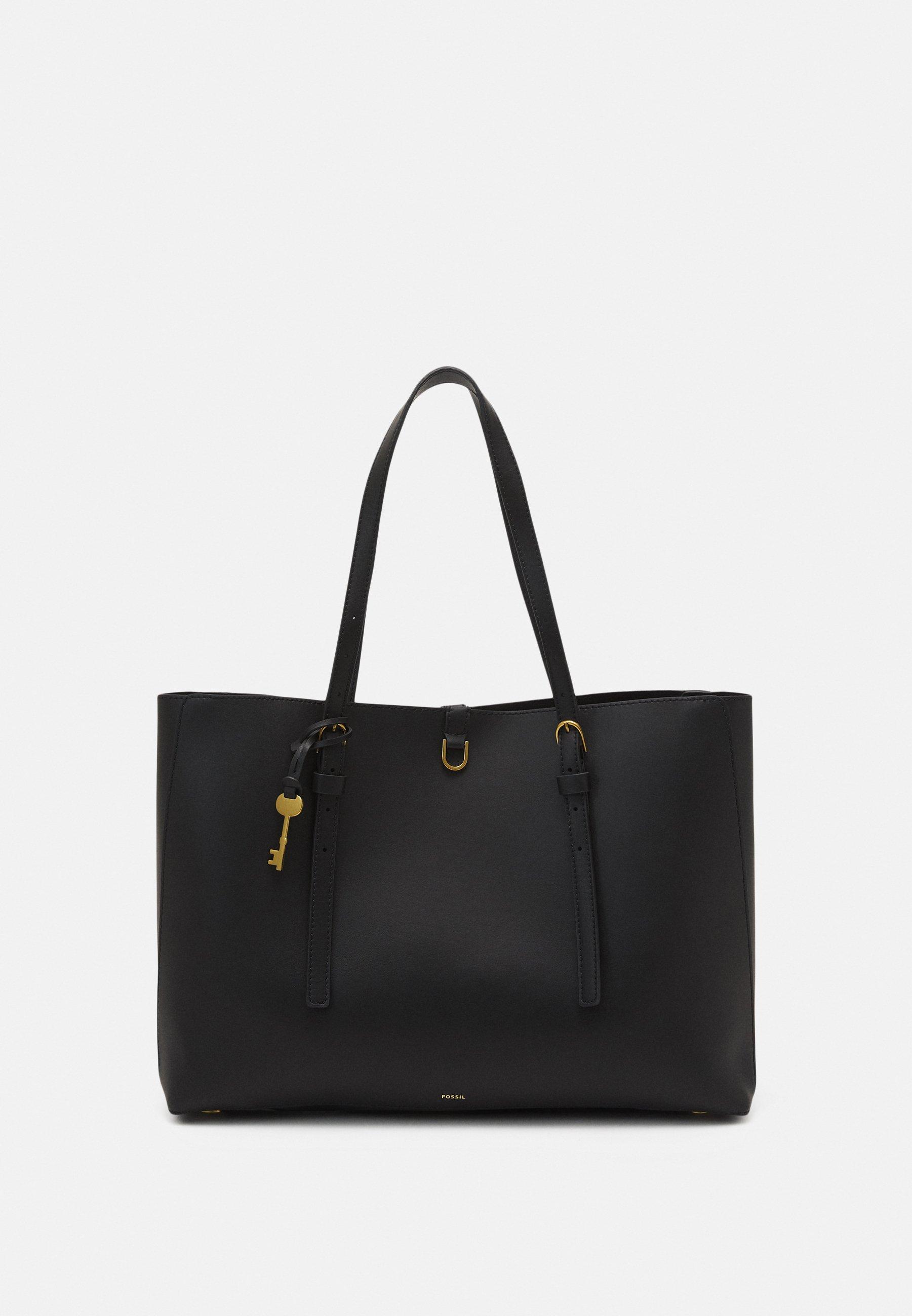 Women VEGAN KIER CACTUS TOTE BLACK - Tote bag