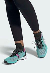 adidas Performance - TERREX SPEED PRO TRAIL RUNNING - Zapatillas de trail running - green - 0