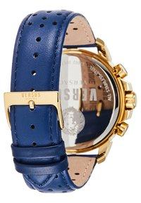 Versus Versace - ABERDEEN - Cronografo - gold-coloured/blue - 2