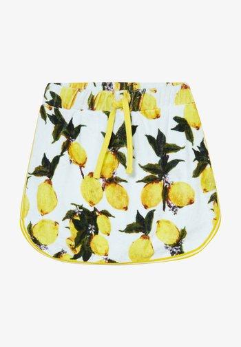 GIRLS SKORT - Minifalda - lemon