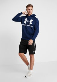 Under Armour - RIVAL SPORTSTYLE LOGO HOODIE - Hættetrøjer - academy/white - 1