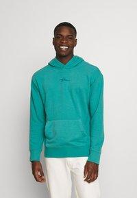 Hollister Co. - SOLID SCRIPT - Sweatshirt - green blue - 0